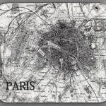 PARIS Map Vintage Image Mou..