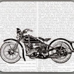 30s Harley dictionary Book Page Art Print Image decorative Mouse Pad